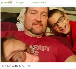 Rex Go Fund Me for ALS