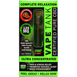 Hemp Maiden - Hemp Bombs Vape Tank - Watermelon
