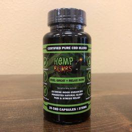 CBD Capsules 25 count 375 mg