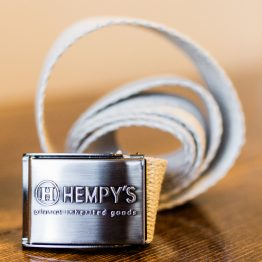 Hempys Scout Belt-Natural