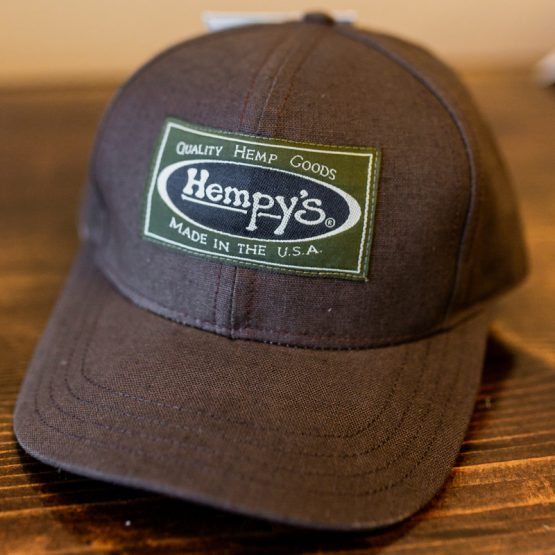 Hempys Baseball Cap-Brown