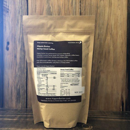 Hemp Seed Coffee Back