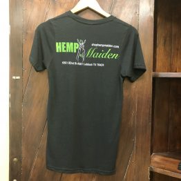 Hemp T-Shirt Hemp Maiden Back