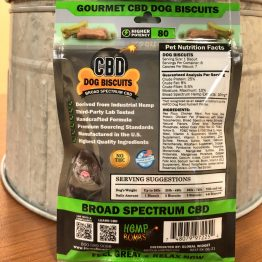 CBD Pets - Biscuits Back