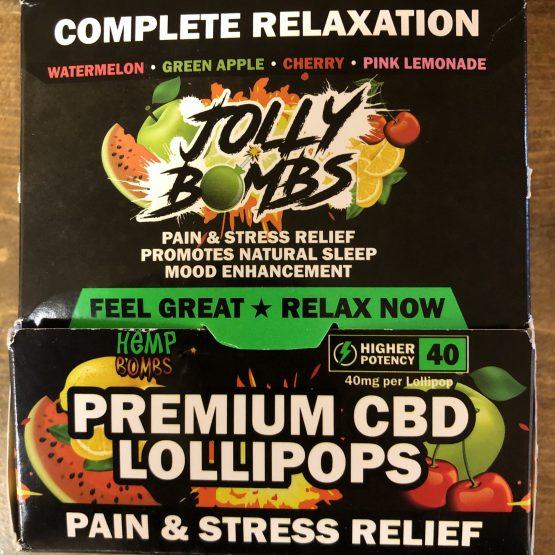 CBD Edibles - Jolly Bombs Box