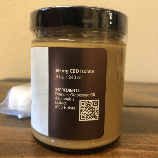 CBD Dog Treats - Peanut Butter Back